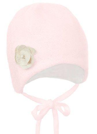 Pupill dívčí čepice Elsa 44 - 46 růžová