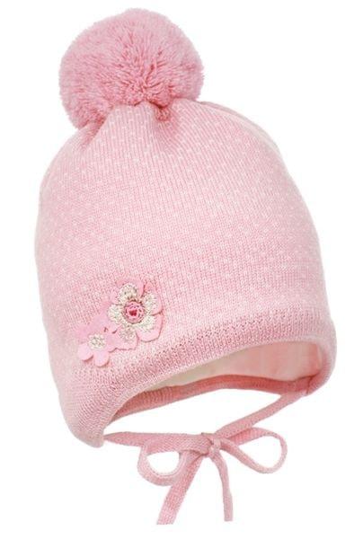 Pupill dívčí čepice Emilia 40 - 42 růžová