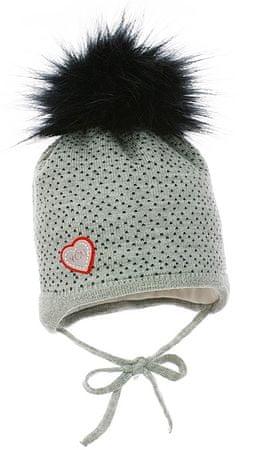 Pupill dekliška kapa Ingrid, 46 - 48, siva
