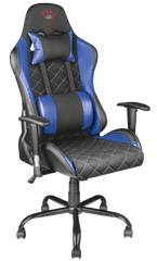 Trust gamerski stol GXT 707B, moder
