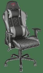 Trust gamerski stol GXT 707G, siv