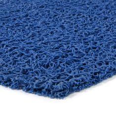 FLOMAT Modrá vinylová protiskluzová rohož Spaghetti - 1000 x 120 x 1,2 cm