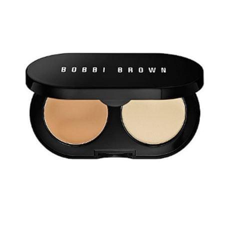 Bobbi Brown Duo krémový korektor a pudr (Creamy Concealer Kit) 1,7 g (Odstín Warm Beige)
