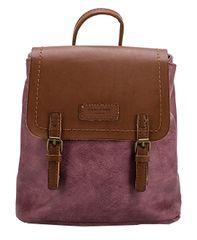 David Jones Dámský batoh Dark Pink CM3952