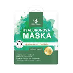 Allnature Látková pleťová maska hyaluronová 23 ml