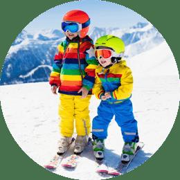 Půjčovna dětských lyží