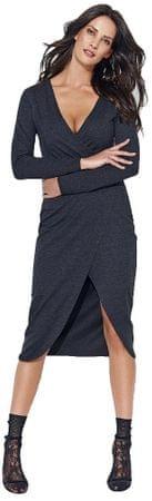 Numinou sukienka damska 40 ciemnoszary