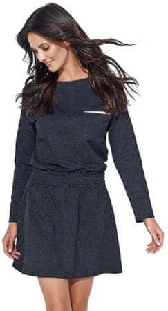 Numinou dámské šaty 36 tmavě šedá - Alternativy  27fbec8c3a
