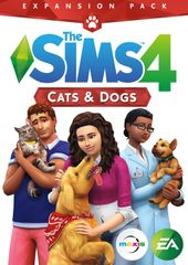 Electronic Arts The Sims 4 Plus Cats and Dogs Bundle, Xbox