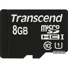 Transcend Transcend spominska kartica SDHC 8GB, 95/45MB/s, C10, UHS-I Speed Class 1 (U1)