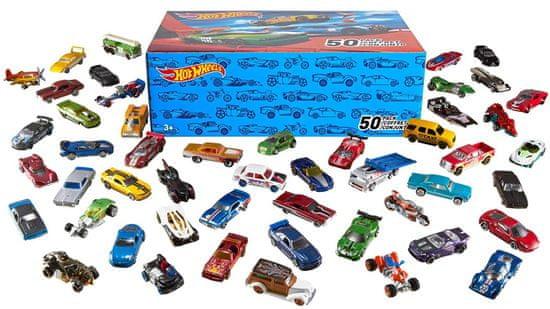 Hot Wheels Avtomobilčki, 50 kosov