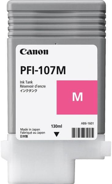 Canon PFI-107M, purpurová (6707B001)