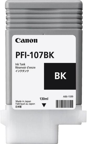 Canon kartuša PFI-107 BK, črna (CF6705B001AA)