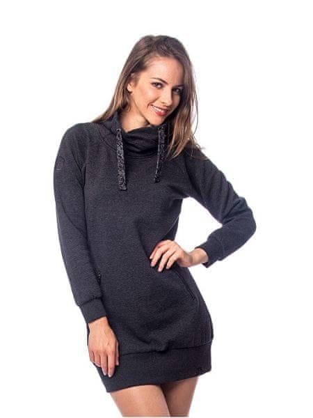 Heavy Tools Dámské šaty Vefi W18-271 Rabbit (Velikost L) 7ea986309b