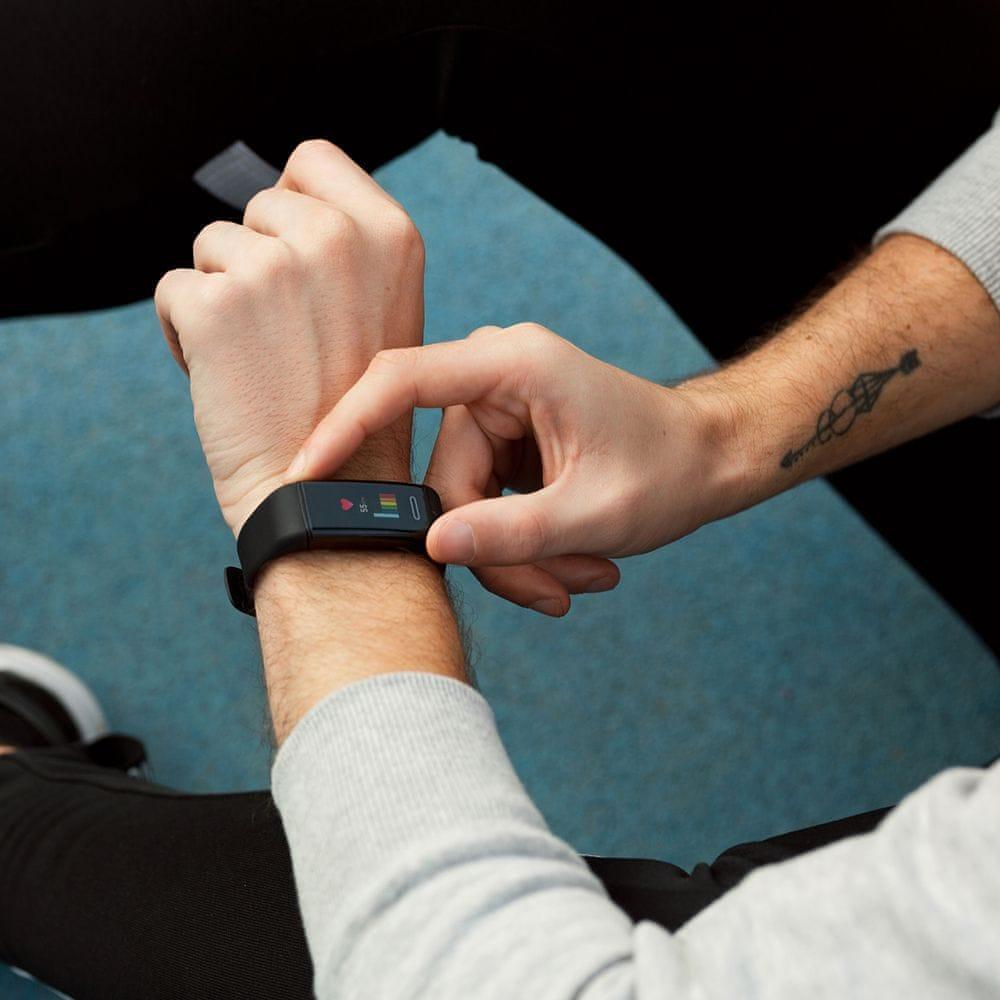 Niceboy X-fit GPS, černý - použité