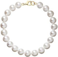 Evolution Group Nádherný perlový náramek Pavona 923003.1 zlato žluté 585/1000