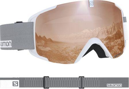 Salomon smučarska očala Xview Access Wh/Univ.T.Orange NS