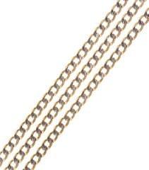 Brilio Náhrdelník z bieleho a žltého zlata 55 cm 271 115 00225 - 9,30 g biele zlato 585/1000