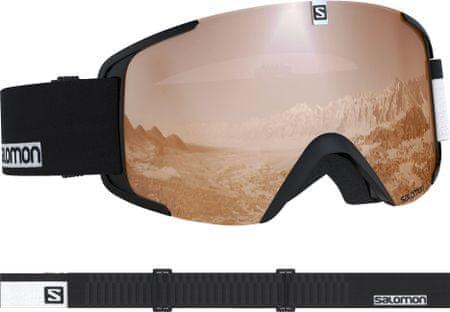 Salomon smučarska očala Xview Access Bk-Wh/Univ.T.Orange NS