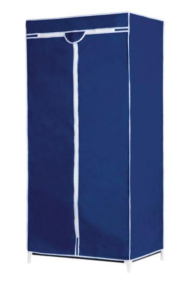 TimeLife tekstilna omara, kovinska, modra