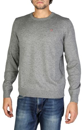 Napapijri muški pulover, M, sivi