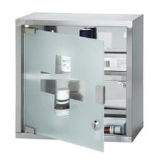 TimeLife skrzynka do przechowywania lekarstw, do zawieszenia 30x30 cm