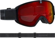 Salomon otroška smučarska očala Trigger Black/Univ. Mid Red NS