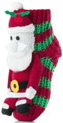 Attractive dětské ponožky se Santa Clausem