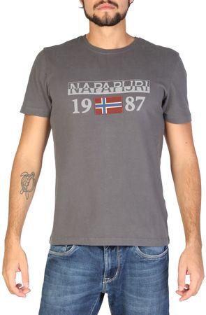 Napapijri muška majica M, siva