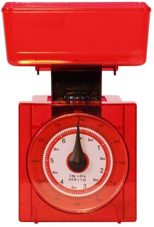 TimeLife Waga kuchenna, analogowa czerwony
