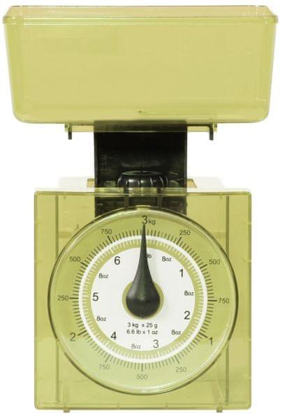 TimeLife Kuchyňská váha analog, zelená