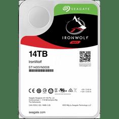 "Seagate trdi disk IronWolf NAS 14 TB, 8,89 cm (3,5""), SATA3, 7200, 256 MB"