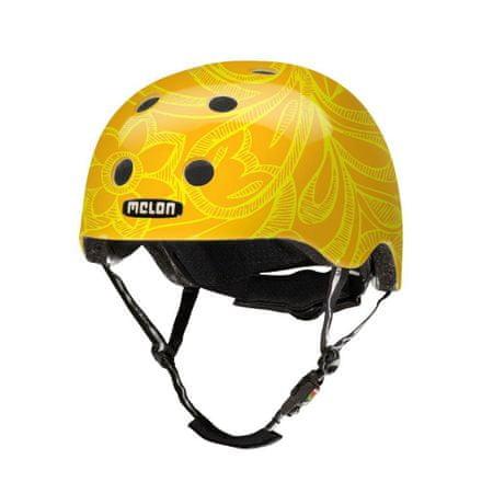 Melon čelada Urban Active Mellow Yellow, rumena, XL