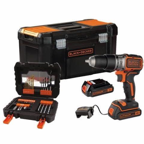 Black+Decker akumulatorski vrtalnik BL188D2KA31-QW