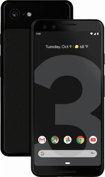 Google Pixel 3, 64 GB, Just Black