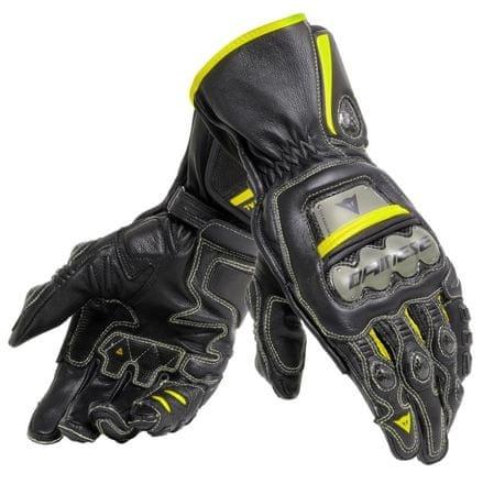 Dainese rukavice FULL METAL 6 vel.S černá/fluo žlutá
