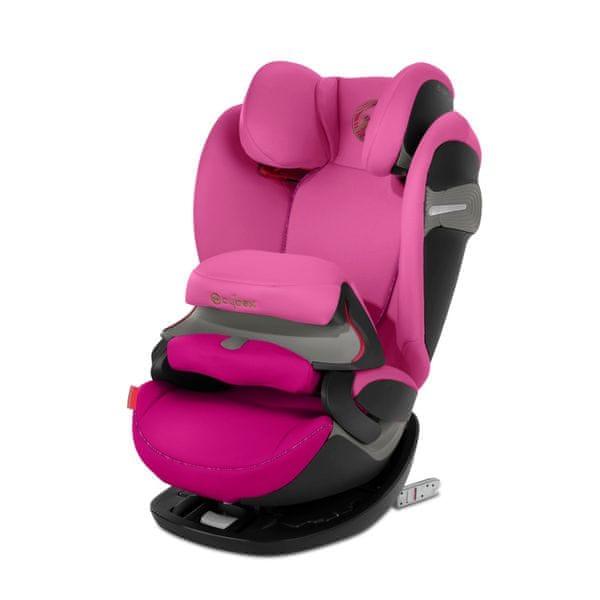 Cybex Pallas S-fix 2019 Fancy Pink