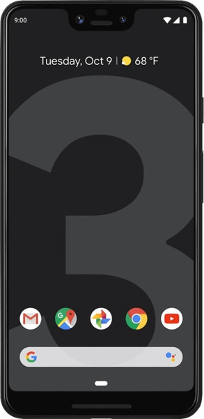 Google Pixel 3 XL, 64 GB, Just Black