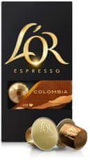 L'Or Colombia - 100 hliníkových kapslí kompatibilních s kávovary Nespresso ®