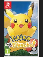 Pokémon: Lets Go, Pikachu! (SWITCH)
