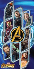 Jerry Fabrics brisača Avengers Infinity War