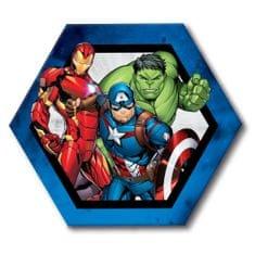 Jerry Fabrics Dekorativní mikroplyšový polštářek Avengers