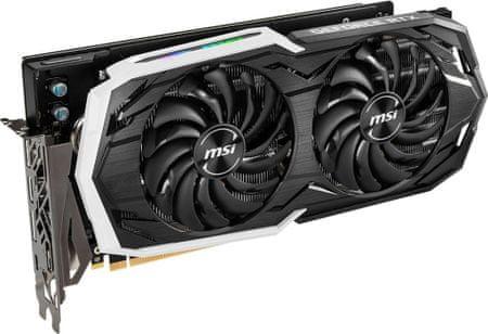 MSI karta graficzna GeForce RTX 2070 ARMOR 8G, 8GB GDDR6 (RTX 2070 ARMOR 8G)