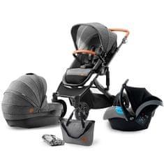 KinderKraft otroški voziček PRIME 3v1