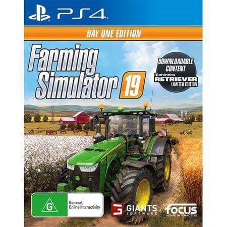 Focus Farming Simulator 19 - D1 Edition (PS4)