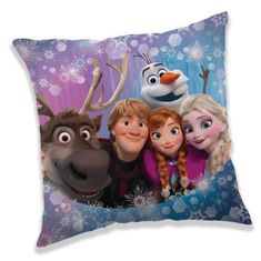 Jerry Fabrics Polštářek Frozen family