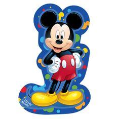 Jerry Fabrics dekorativni otroški vzglavnik Mickey, moder