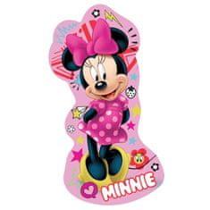 Jerry Fabrics Dekorativní mikroplyšový polštářek Minnie růžový