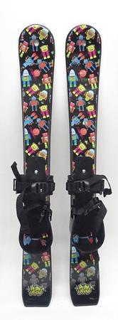 Westige Dětské lyže Snow boy s nastavitelným vázáním