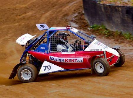 Poukaz Allegria - jízda v závodní Buggy - 10 kol Sedlčany